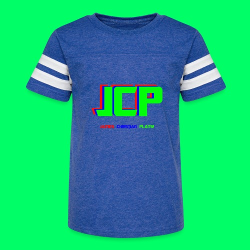 James Christian Plays! Original Set - Kid's Vintage Sport T-Shirt