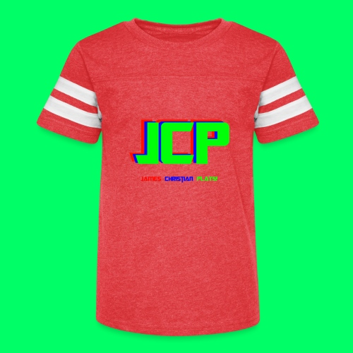 James Christian Plays! Original Set - Kid's Vintage Sport T-Shirt