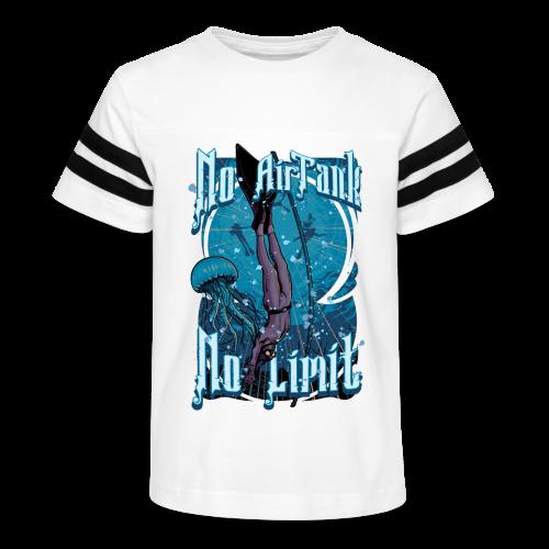 No Air Tank No Limit Freediving merchandise - Kid's Vintage Sport T-Shirt