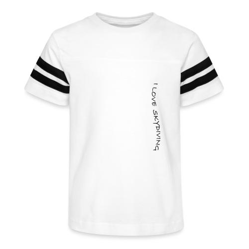 I love skydiving/T-shirt/BookSkydive - Kid's Vintage Sport T-Shirt