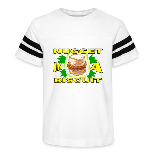 NUGGET in a BISCUIT - Kid's Vintage Sport T-Shirt