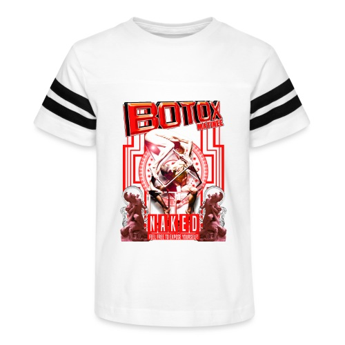 BOTOX MATINEE NAKED 2 T-SHIRT - Kid's Vintage Sport T-Shirt