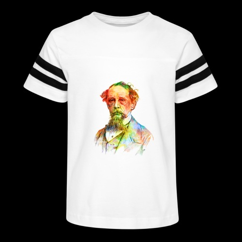 What the Dickens? | Classic Literature Lover - Kid's Vintage Sport T-Shirt