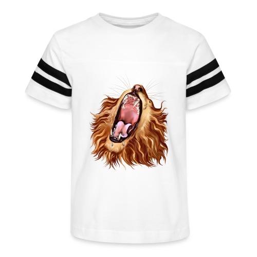 Lion's Face - Kid's Vintage Sport T-Shirt