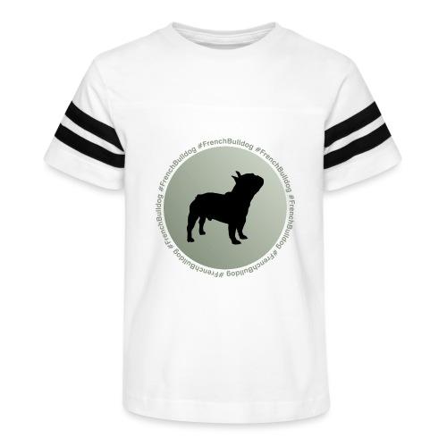 French Bulldog - Kid's Vintage Sport T-Shirt
