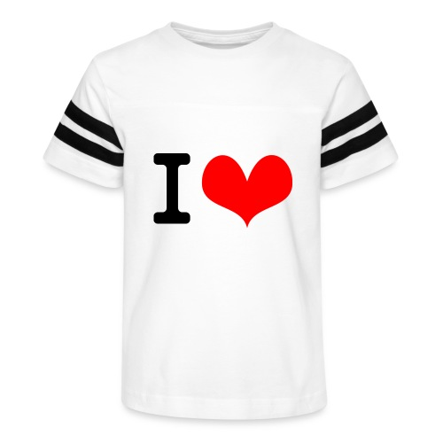I Love what - Kid's Vintage Sport T-Shirt