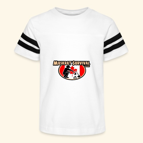 Muskrat Badge 2020 - Kid's Vintage Sport T-Shirt