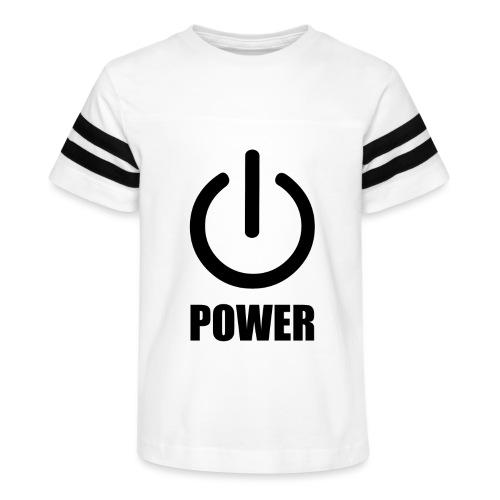 Power - Kid's Vintage Sport T-Shirt