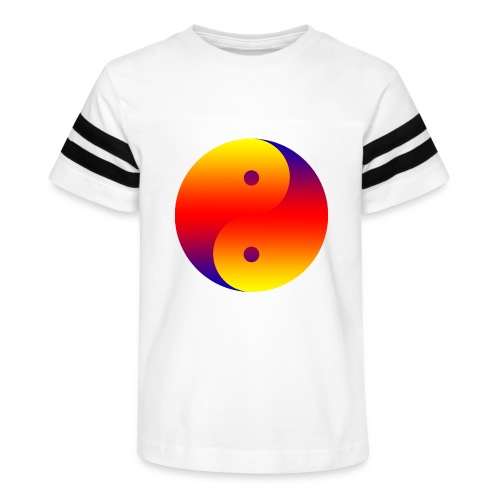 Yin Yang colorful - Kid's Vintage Sport T-Shirt
