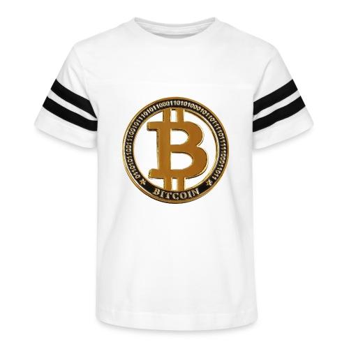 Bitcoin - Kid's Vintage Sport T-Shirt