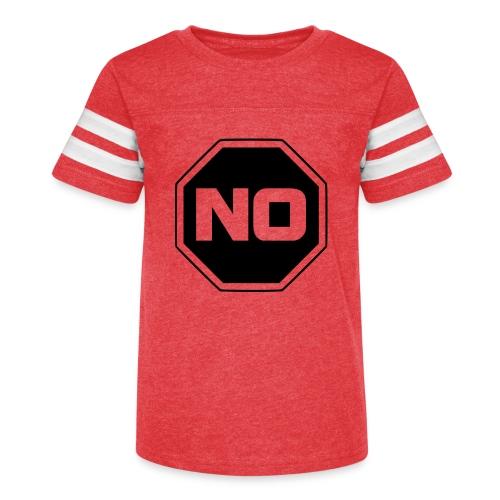 stopp say no - Kid's Vintage Sport T-Shirt
