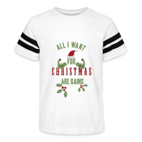 All i want for christmas - Kid's Vintage Sport T-Shirt