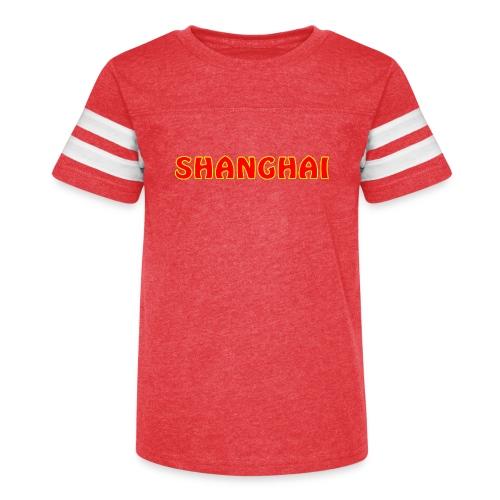 Shanghai - Kid's Vintage Sport T-Shirt