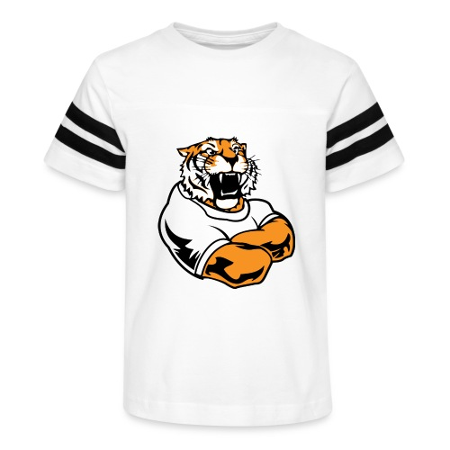 Cool Custom Tiger Macot - Kid's Vintage Sport T-Shirt