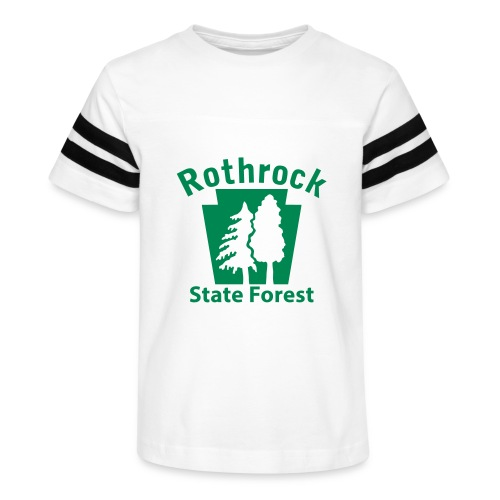 Rothrock State Forest Keystone (w/trees) - Kid's Vintage Sport T-Shirt