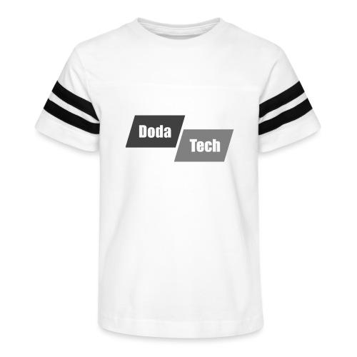 DodaTech Logo - Kid's Vintage Sport T-Shirt