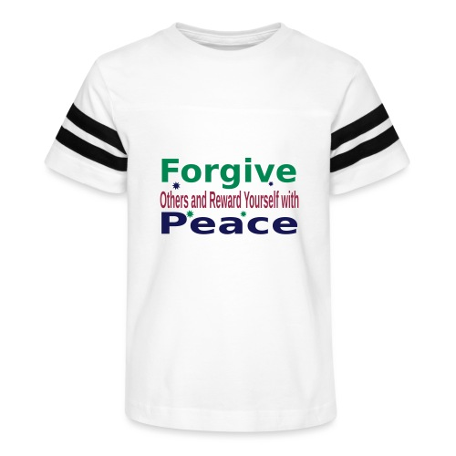 Forgive to get Peace - Kid's Vintage Sport T-Shirt