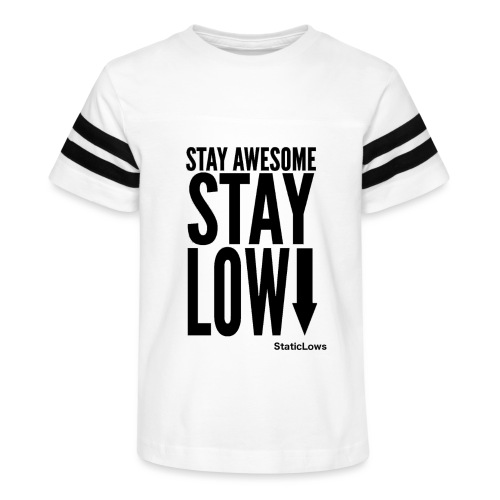 Stay Awesome - Kid's Vintage Sport T-Shirt