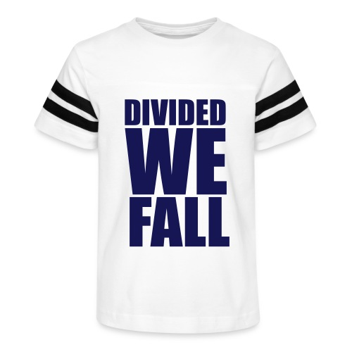 DIVIDED WE FALL - Kid's Vintage Sport T-Shirt
