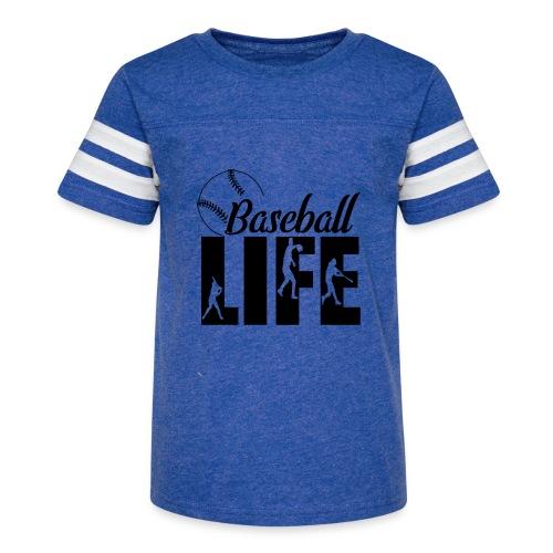 Baseball life - Kid's Vintage Sport T-Shirt