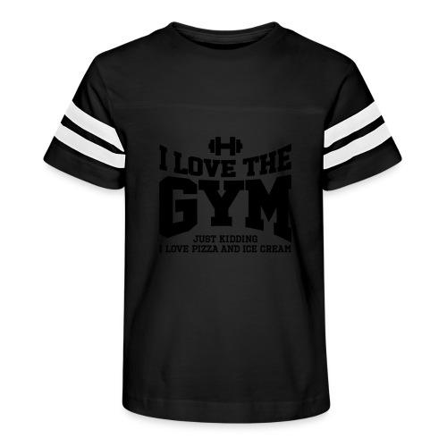 I love the gym - Kid's Vintage Sport T-Shirt