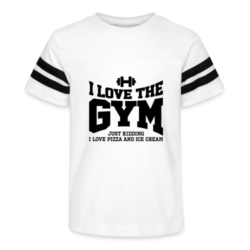 I love the gym - Kid's Vintage Sport T-Shirt