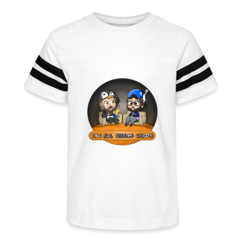All Things Cards - Kid's Vintage Sports T-Shirt
