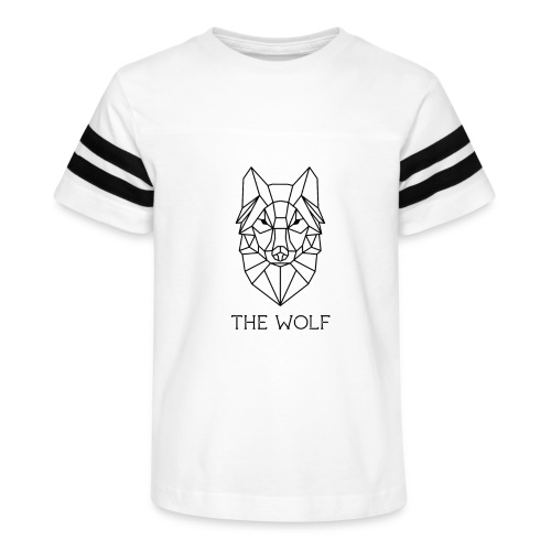 The Wolf - Kid's Vintage Sport T-Shirt