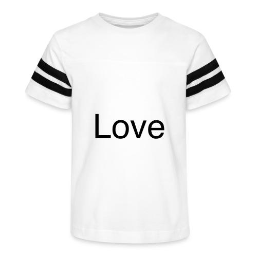 Love - Kid's Vintage Sport T-Shirt