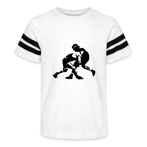 wrestling wrestlers - Kid's Vintage Sport T-Shirt