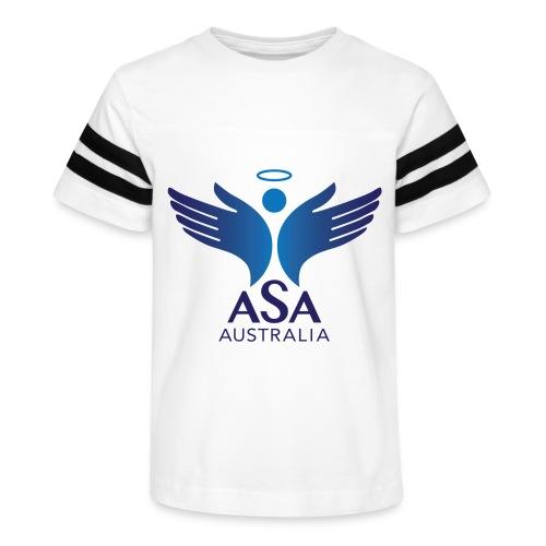 3459 Angelman Logo AUSTRALIA FA CMYK - Kid's Vintage Sport T-Shirt