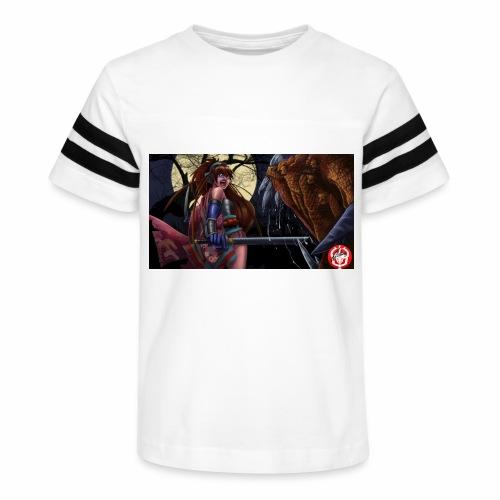 Anime Demon Hunter - Kid's Vintage Sport T-Shirt