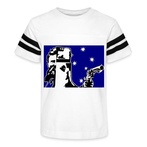 NED KELLY - Kid's Vintage Sport T-Shirt