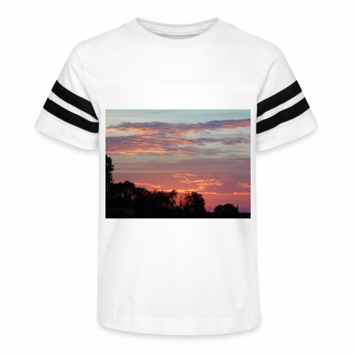 Sunset of Pastels - Kid's Vintage Sport T-Shirt