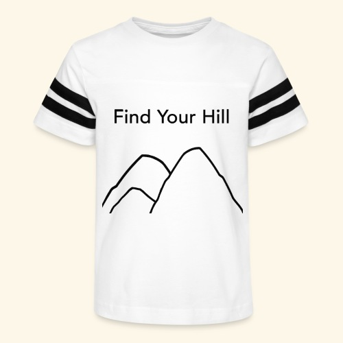 Find Your Hill - Kid's Vintage Sport T-Shirt