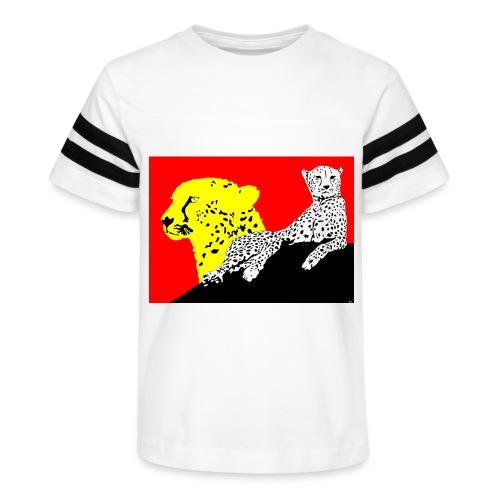 CHEETAH - Kid's Vintage Sport T-Shirt