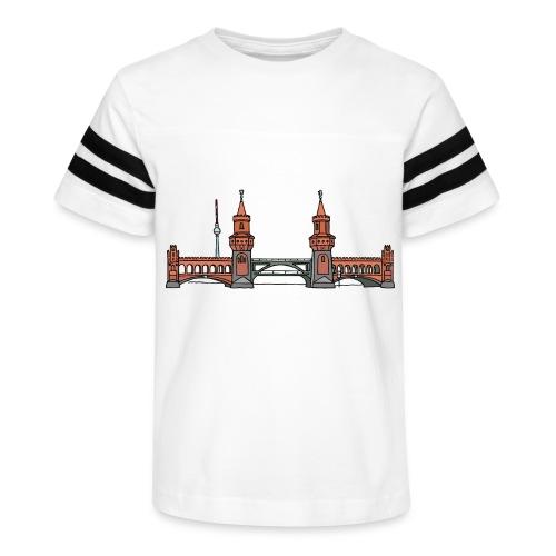 Oberbaum Bridge Berlin - Kid's Vintage Sport T-Shirt