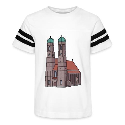 Munich Frauenkirche - Kid's Vintage Sport T-Shirt