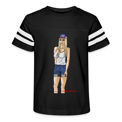 Gina Character Design - Kid's Vintage Sport T-Shirt