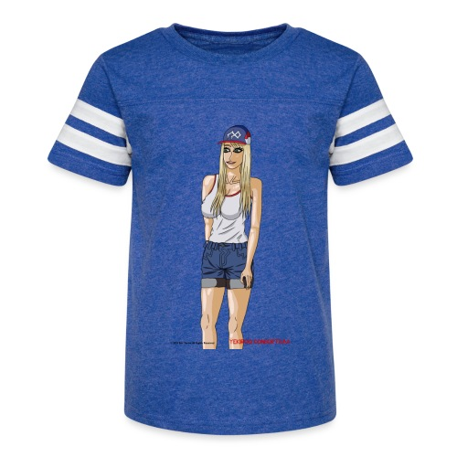 Gina Character Design - Kid's Vintage Sport T-Shirt