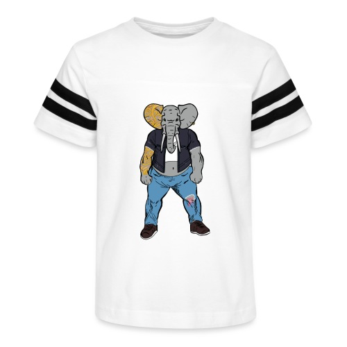 Dumbo Fell in the Wrong Crowd - Kid's Vintage Sport T-Shirt