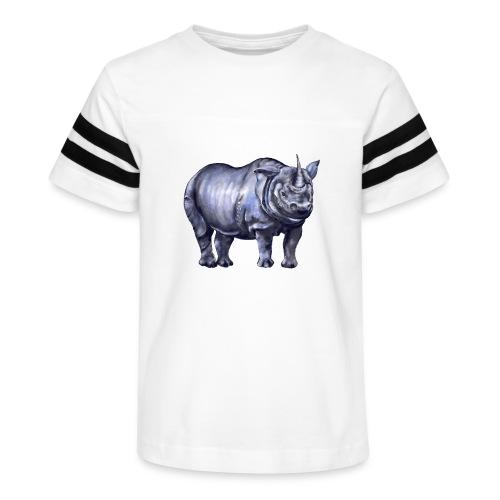One horned rhino - Kid's Vintage Sport T-Shirt