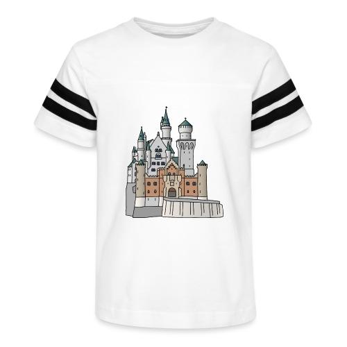 Neuschwanstein Castle, Bavaria - Kid's Vintage Sport T-Shirt