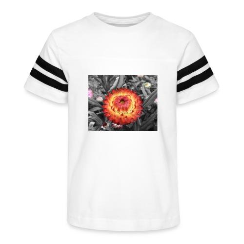 Flower in bloom - Kid's Vintage Sport T-Shirt