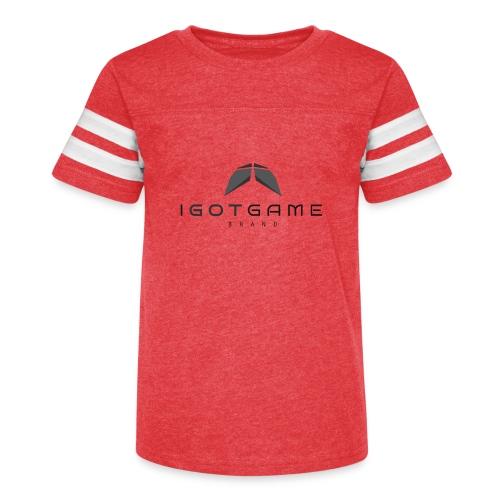 IGOTGAME ONE - Kid's Vintage Sport T-Shirt
