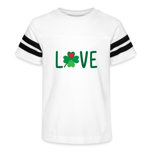 Lucky in Love - Kid's Vintage Sport T-Shirt