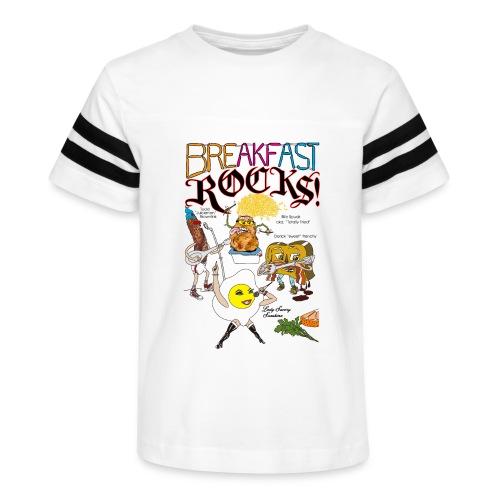 Breakfast Rocks! - Kid's Vintage Sport T-Shirt