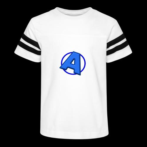 Awesomegamer Logo - Kid's Vintage Sport T-Shirt