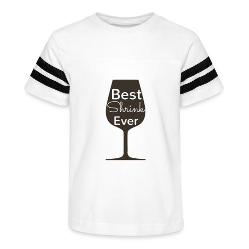 Alcohol Shrink Is The Best Shrink - Kid's Vintage Sport T-Shirt