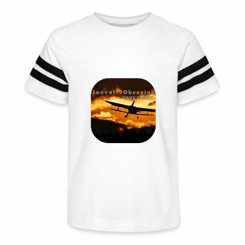 "InovativObsesion ""TAKE FLIGHT"" apparel - Kid's Vintage Sport T-Shirt"